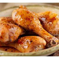 Куриные ножки в медово-горчичном соусе с картофелем